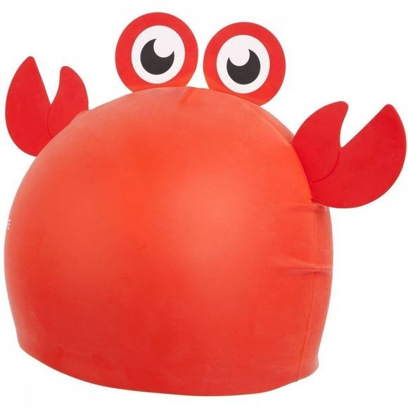 Sunnylife Jouets Shaped Swimming Cap 3-9 Crabby Rouge/Bleu