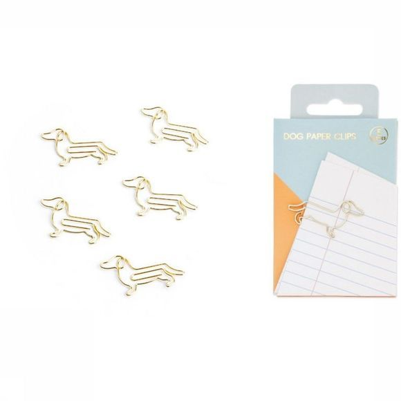 Good Design Works Paper Clips Hond Goud