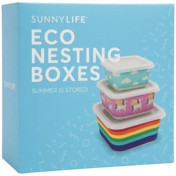 Sunnylife Gadget Nesting Boxes Wonderland S3 Assortiment