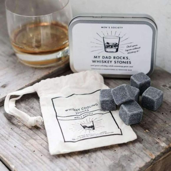 Men's Society Gadget My Daddy Rocks Whiskey Stones Wit