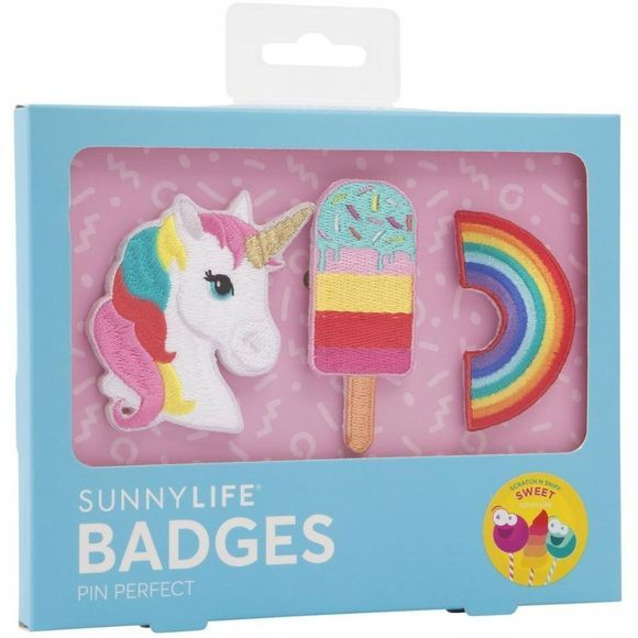 Sunnylife Gadget Badges Sweet Tooth Set Of 3 Assorti / Mixte