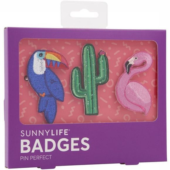 Gadget Badges Tropical Set Of 3