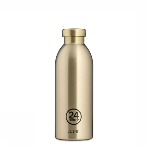 24Bottles Drinkfles Clima 500ml Goud