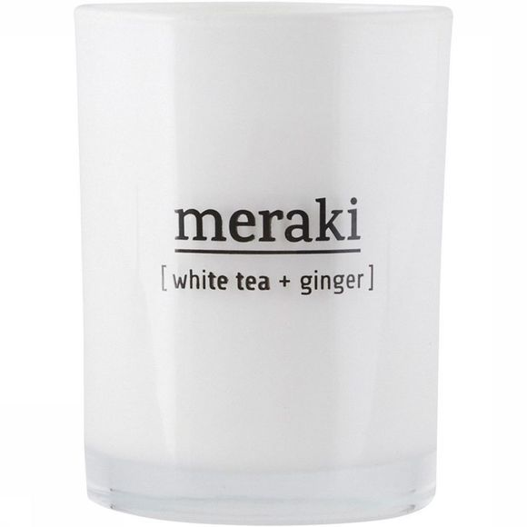 Geurkaars Scented White Tea & Ginger