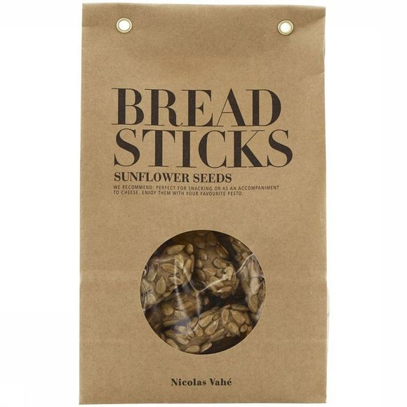 Nicolas Vahé Breadsticks W Sunflower Seeds 150G Pas de couleur