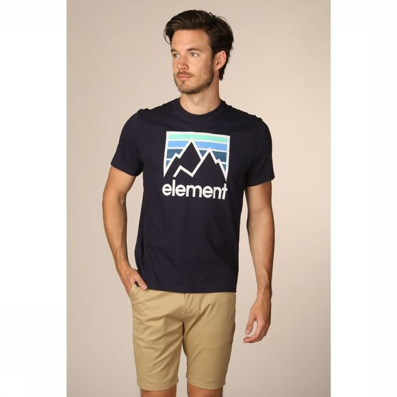 Element T-Shirt Link Donkerblauw
