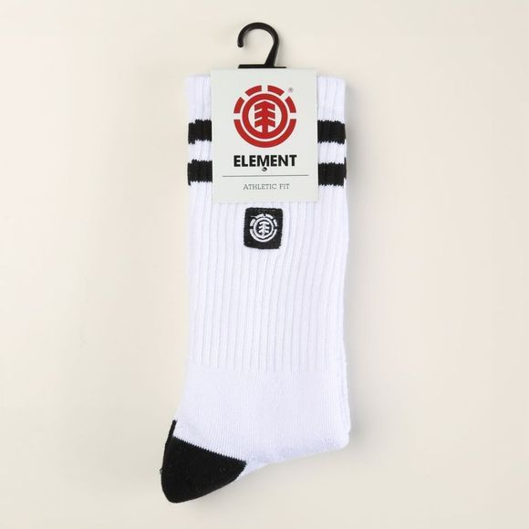 Element Kous Clear Sight Socks Wit/Donkerblauw