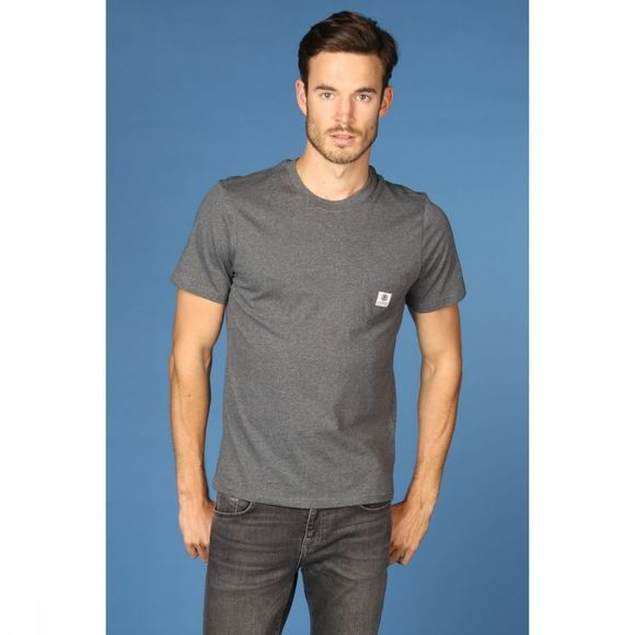 Element T-Shirt Basic Pocket Donkergrijs