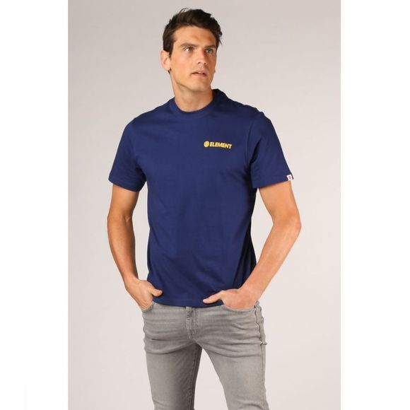 Element T-Shirt Blazin Chest Bleu Foncé