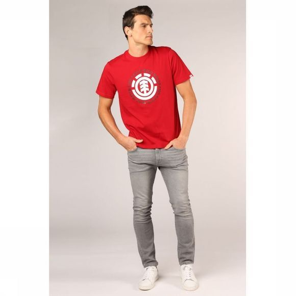 Element T-Shirt Seal Rouge Moyen