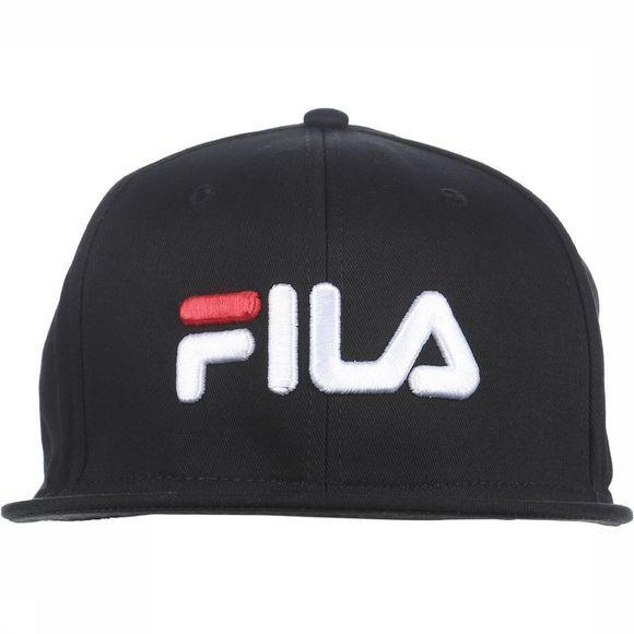 Fila Pet 6 Panel Classic Cap Zwart