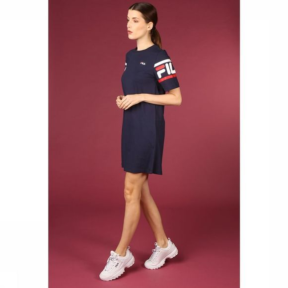 Fila Jurk Steph Dress Donkerblauw