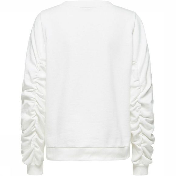 Selected Pull Sf Puck Ls Blanc