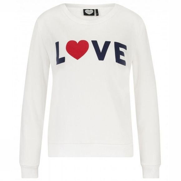 Catwalk Junkie Pull Sw Love Freak Blanc