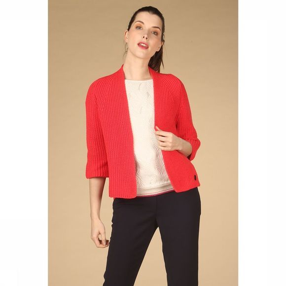 Dame Blanche Cardigan Clarisse Fusion Rouge Moyen