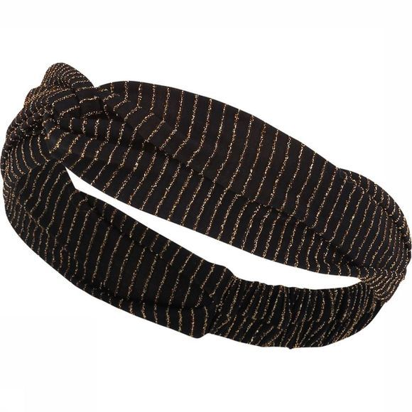 Catwalk Junkie Haarband Ac Disco Stripes Zwart/Goud
