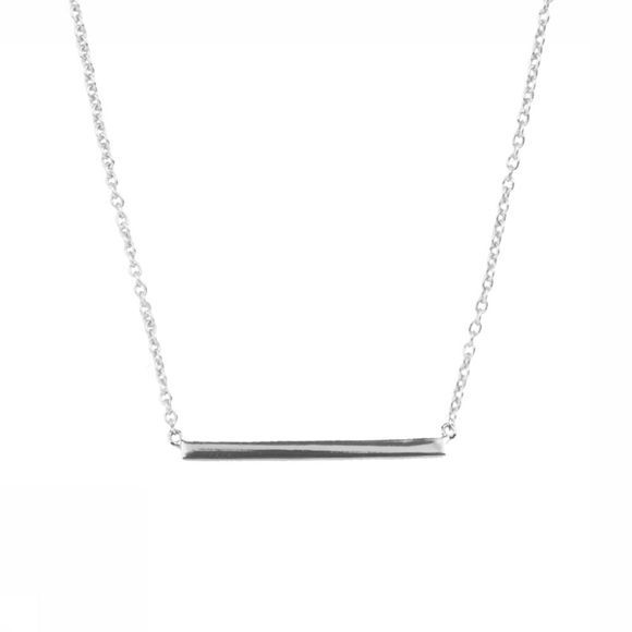 All The Luck In The World Collier Souvenir Bar Argent