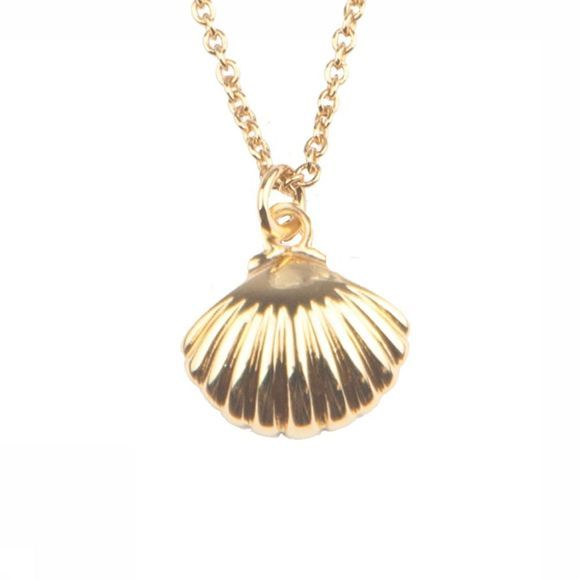 All The Luck In The World Collier Souvenir Sea Shell Or