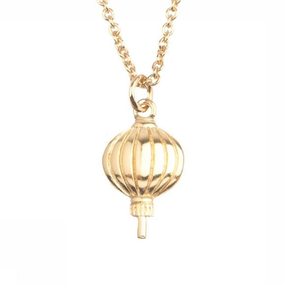 All The Luck In The World Ketting East Lantern Goud