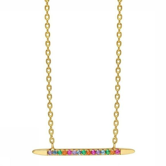 Estella Bartlett Ketting Long Bullet Goud