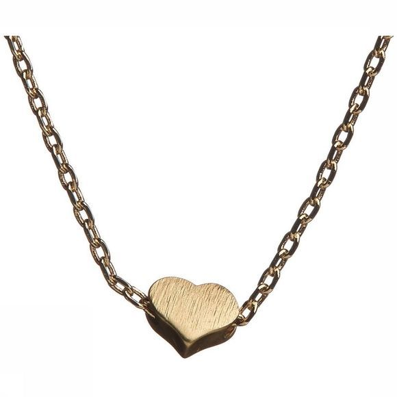 Timi Ketting Small Sliding Heart Goud