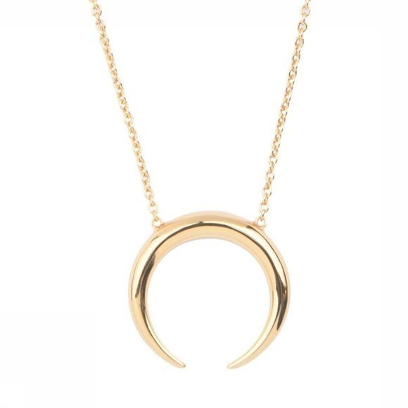 All The Luck In The World Collier Horn Or