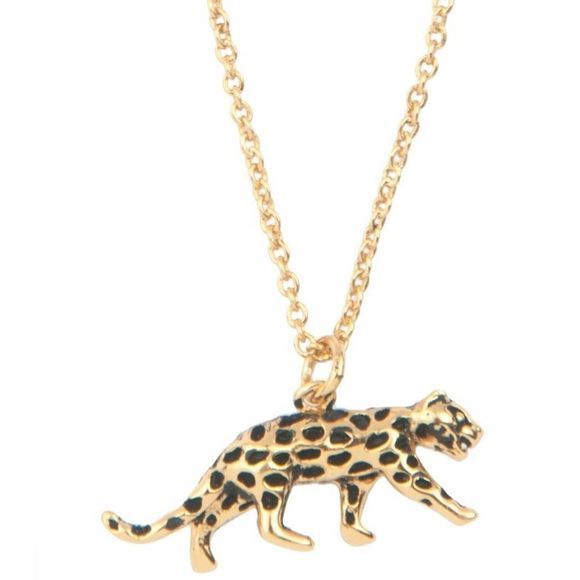 All The Luck In The World Collier Leopard Or