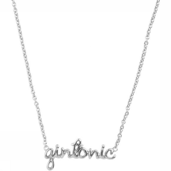 All The Luck In The World Ketting Gintonic Zilver