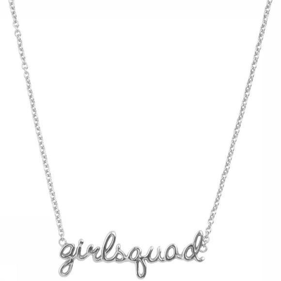 All The Luck In The World Ketting Girlsquad Zilver