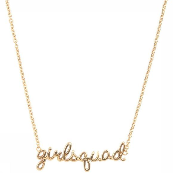 All The Luck In The World Collier Necklace Girlsquad Or