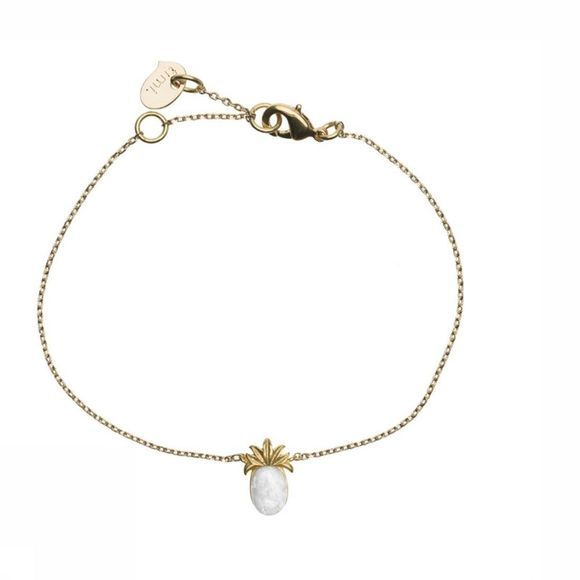 Timi Bracelet 3D Pineapple W Stone Or