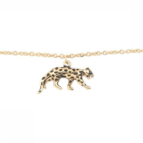 All The Luck In The World Bracelet Souvenir Leopard Or