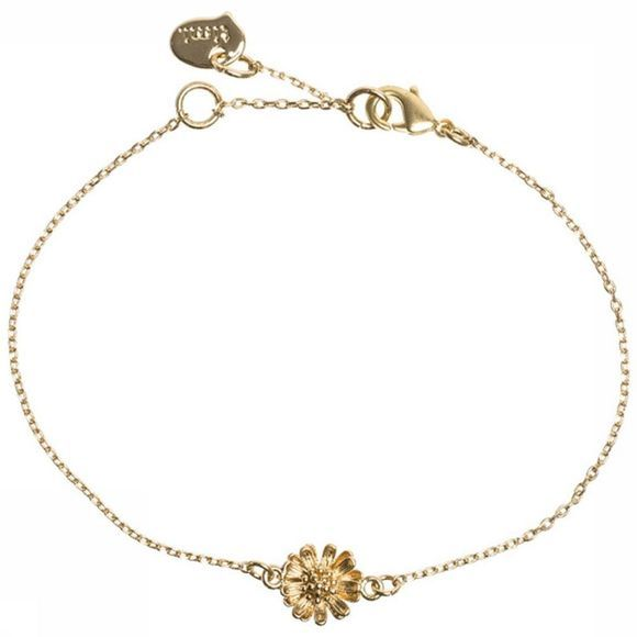 Timi Bracelet 3D Flower Or