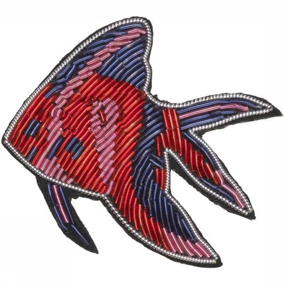 Becksöndergaard Broche Bloop Rouge Moyen