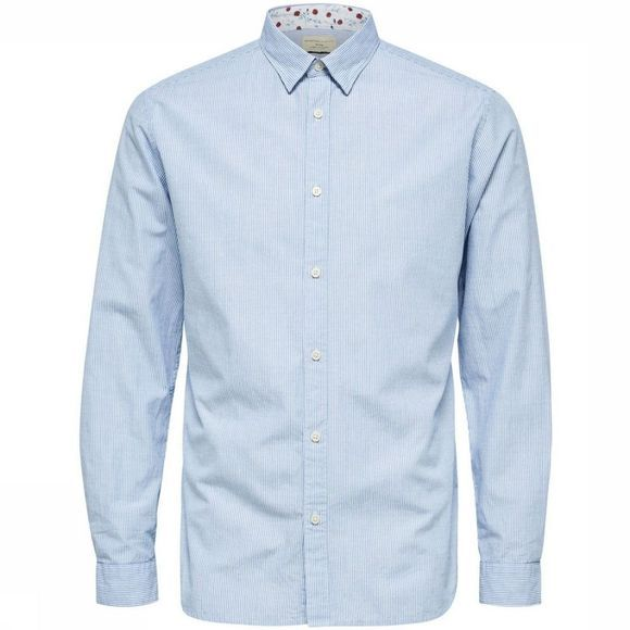 Selected Chemise 16063714 Bleu Clair