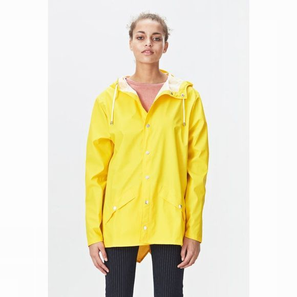 Rains Jas Jacket Geel