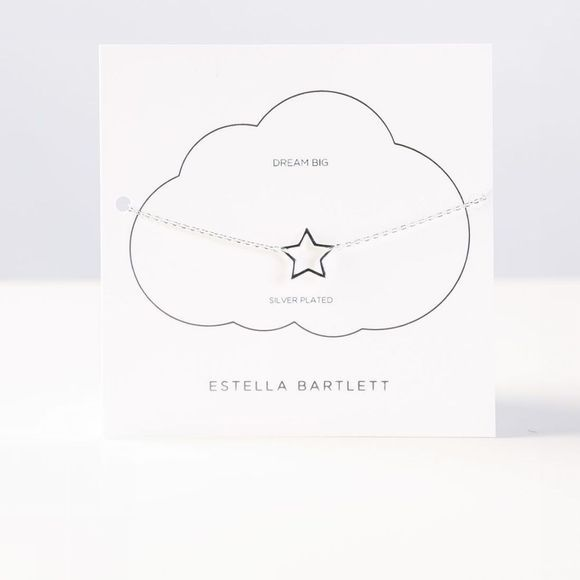 Estella Bartlett Armband Open Star Zilver