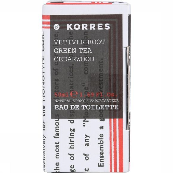 Korres Eau de Toilette Vetiver 50ml Assortiment
