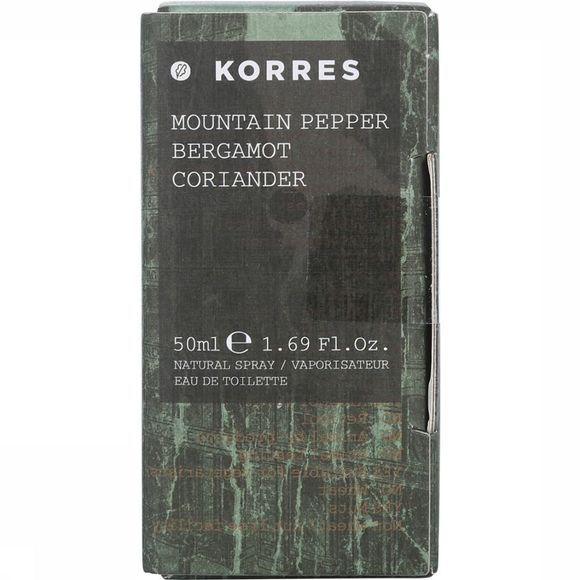 Korres Parfum Fragrance Pountain Pepper 50 Ml Assortiment