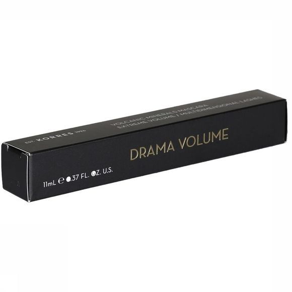 Korres Make-Up Mascara Drama Volume 1 Zwart