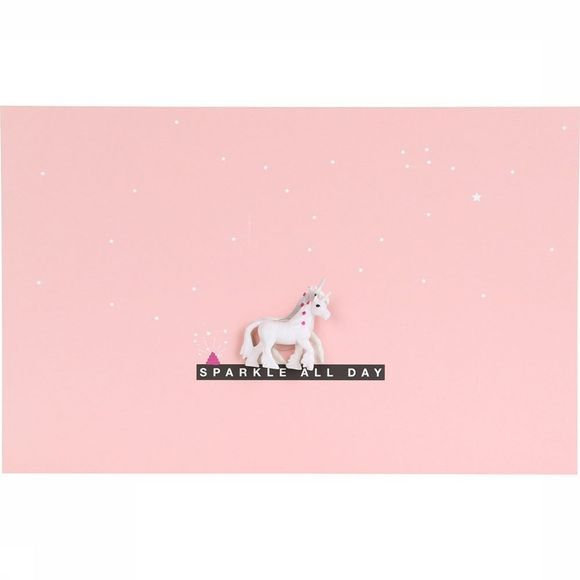 Leuke Kaartjes Carte de Voeux Sparkle All Day Rose Clair