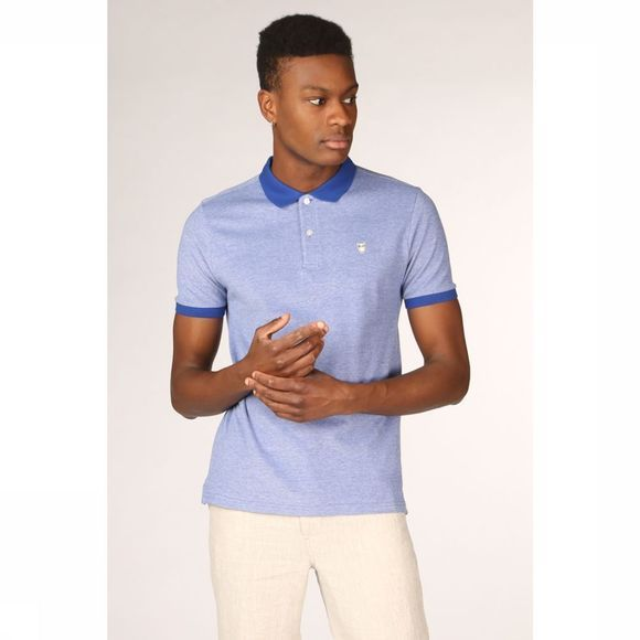 Knowledge Cotton Apparel Polo 20065 Bleu Clair