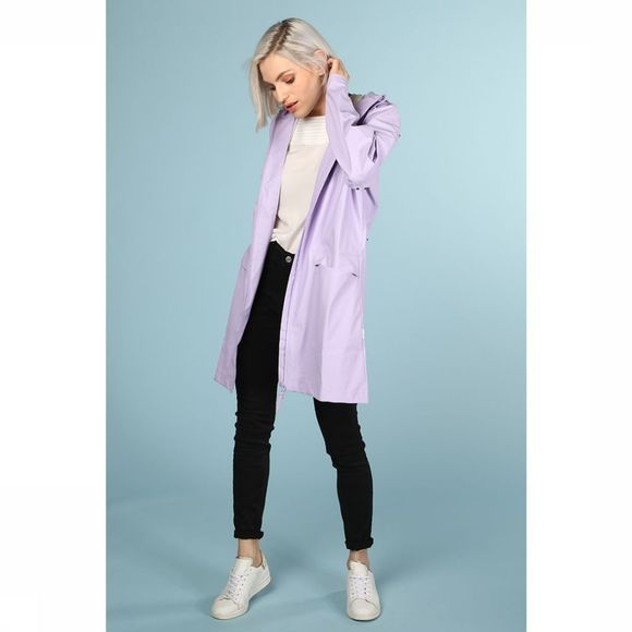 Rains Manteau W Coat Pourpre Clair