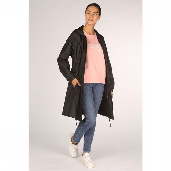 Rains Manteau Long W Noir