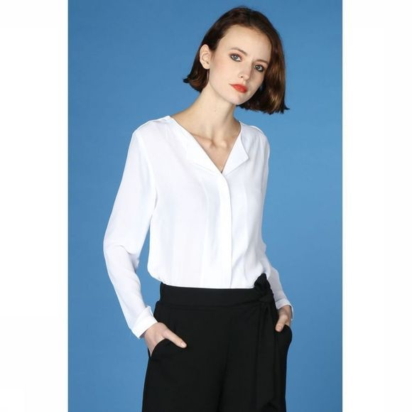 B.Young Blouse Hialice Wit