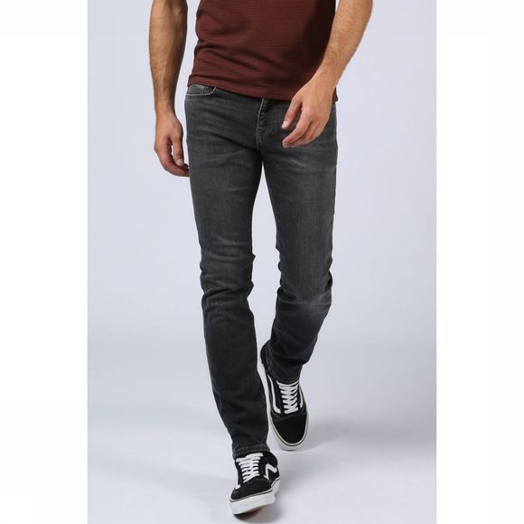 Selected Jeans slimleon Middengrijs