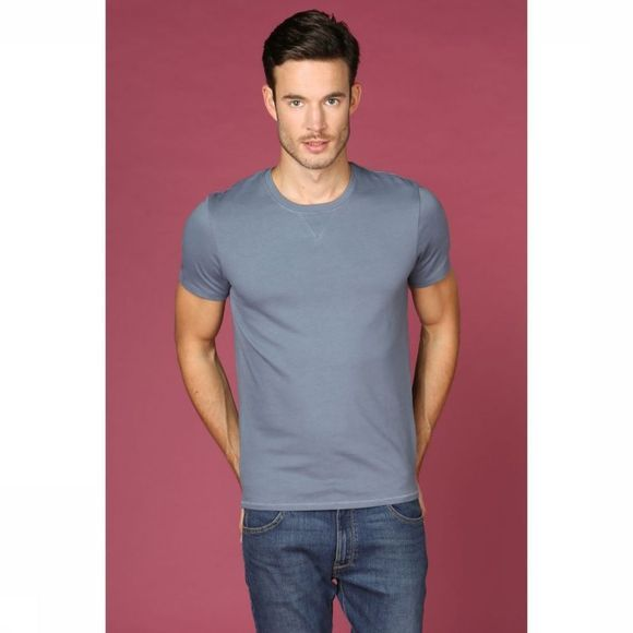 Selected T-Shirt marcel Bleu Moyen