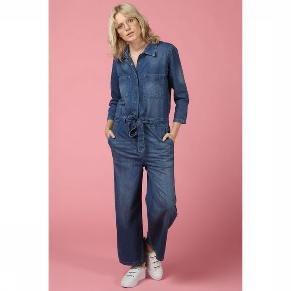 Jumpsuit Slf Victoria 7/8 Cropped Denim