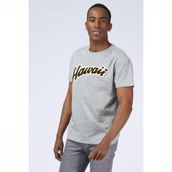 Selected T-Shirt Shxaron Gris Clair Mélange