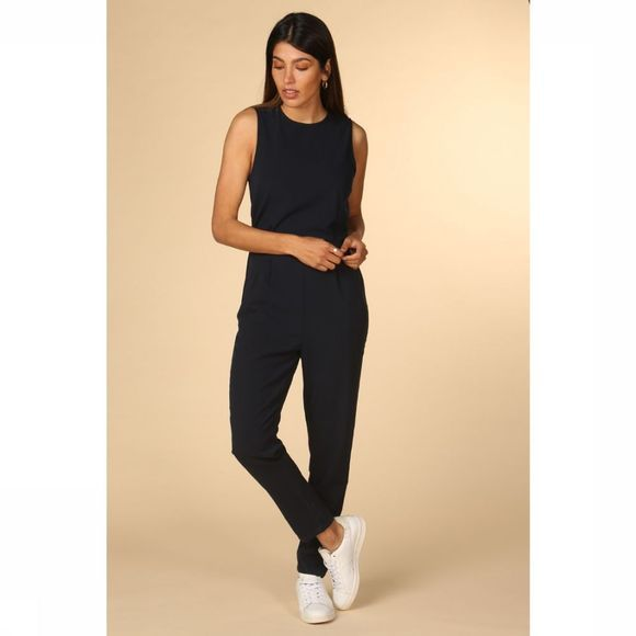 Yas Jumpsuit Clady Spring Donkerblauw